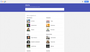 Google Alerts, Your New Best Friend