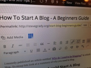 How To Start A Blog – A Beginners Guide