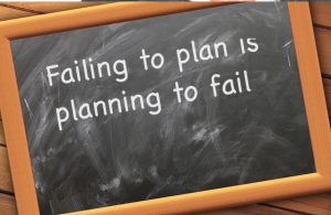 Mistake of failing to plan in business
